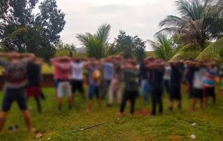 Polícia acaba com festa regada a drogas e bebidas em Brumado