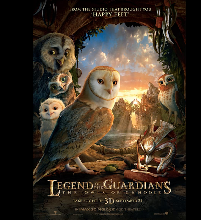 Legend Of The Guardians 2010 x264 720p Esub BluRay Dual Audio English Hindi THE GOPI SAHI