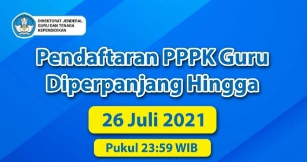 Reset Aplikasi Pendaftara PPPK Guru Honorer dan Segera Tuntaskan Pendaftaran 26 Juli