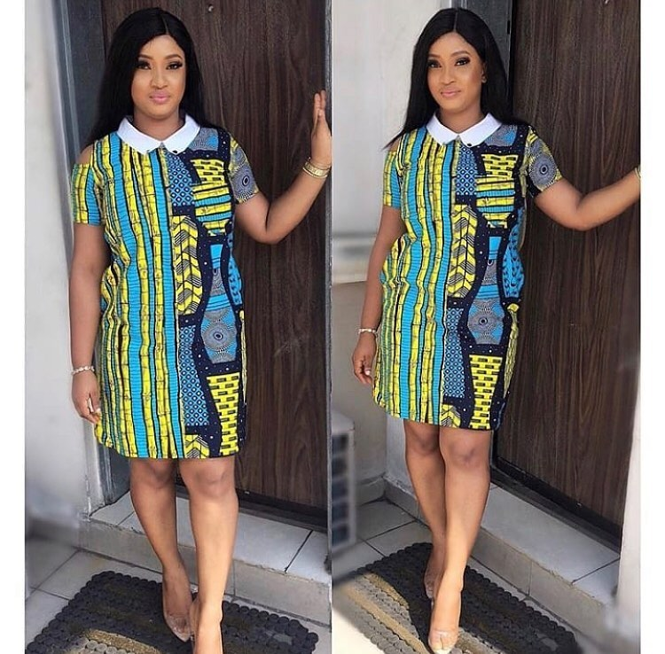 f07c552aaa4 Ankara Simple Gown Styles for Ladies ~ Dezango Hub