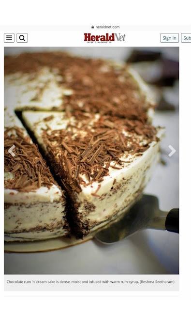 Dessert recipes in the Herald