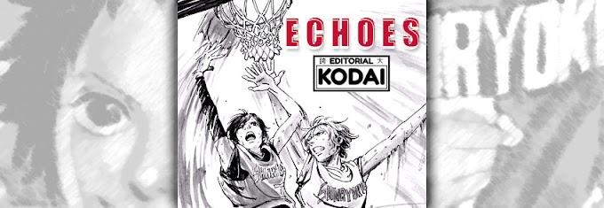 Manga reseña: 'Echoes' de Ayumi, la primera obra de Editorial Kodai