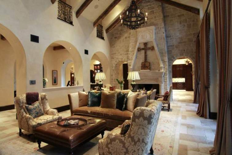 Mediterranean Architectural Style Characteristics Indoor And Outdoor