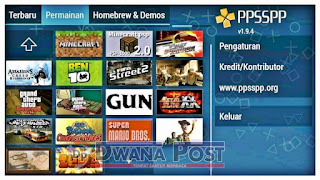 Tips Main Game PSP di ANDROID
