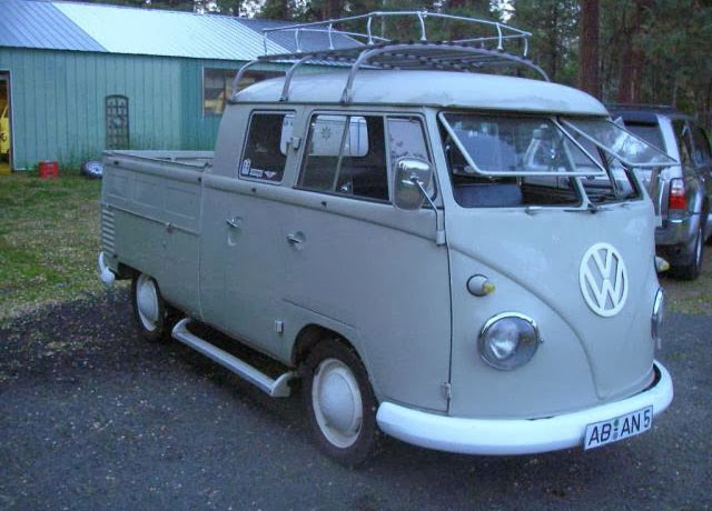 1961 Volkswagen Double Cab Vw Bus