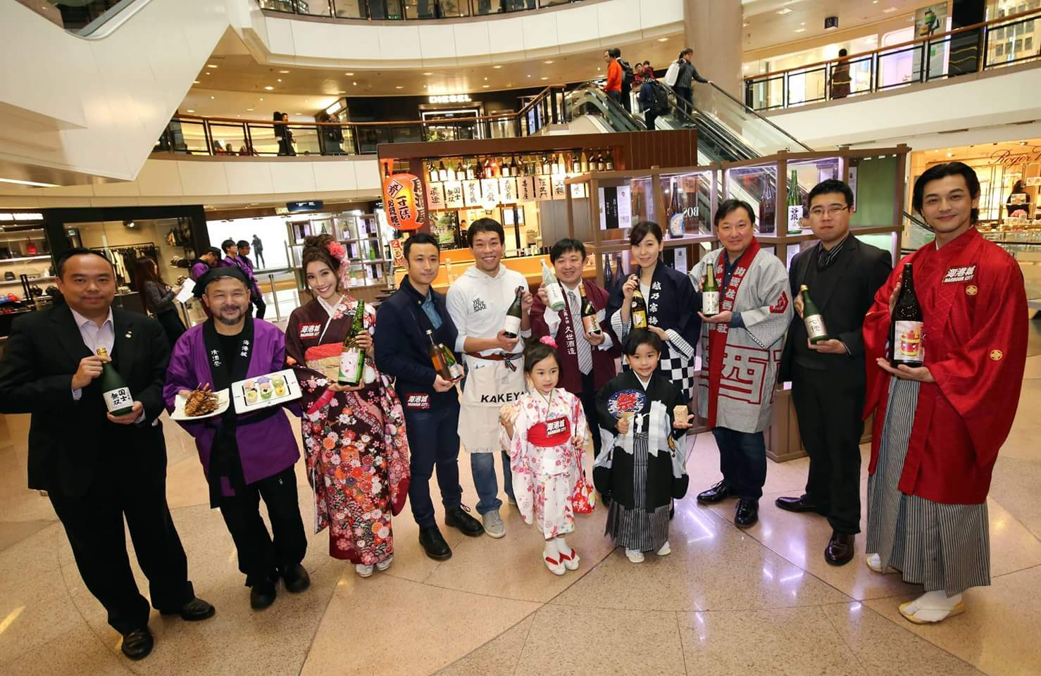 Sakura & Sake Festival at Harbour City Hong Kong