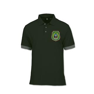desain kaos polo ber logo provinsi maluku utara - kanalmu