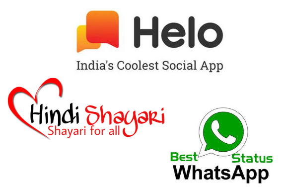 Mobile Apps Helo Share Shayris Quotes Whatsapp Status