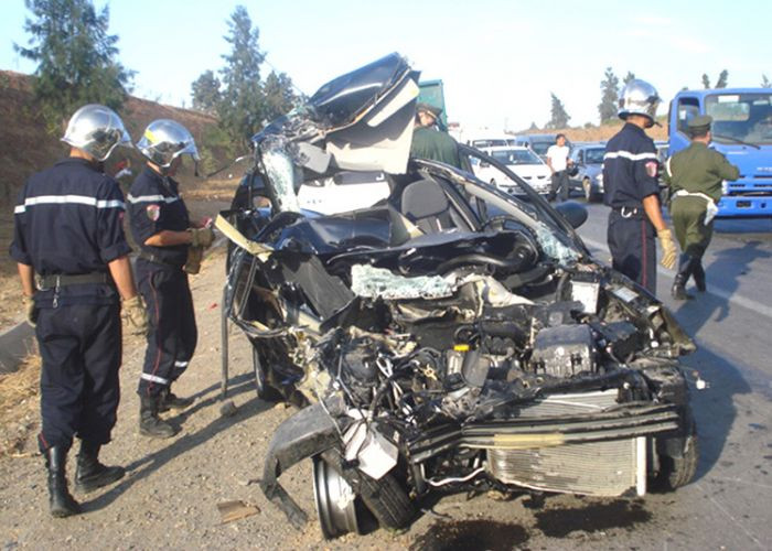 حوادث المرور: وفاة 43 شخص وجرح 1612 آخرين خلال أسبوع