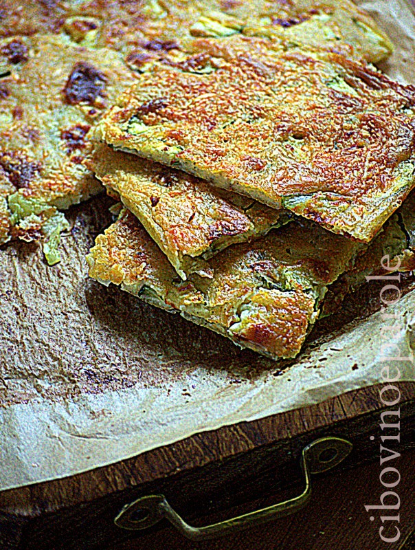 Crustless Zucchini Pie - recipe