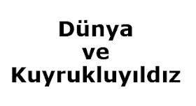 3. Sınıf Türkçe Dünya ve Kuyrukluyıldız Dinleme Metni Sunu