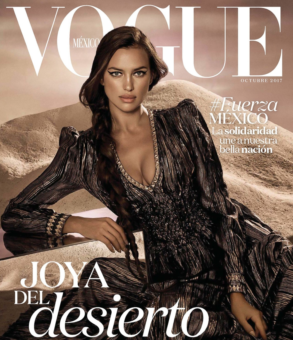 Vogue Mexico | October 2017 Irina Shayk by Jason Kibbler