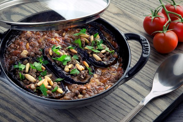 MINCED MEAT MOUSSAKA