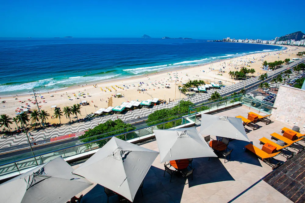 Hotel Arena Leme Rio de Janeiro
