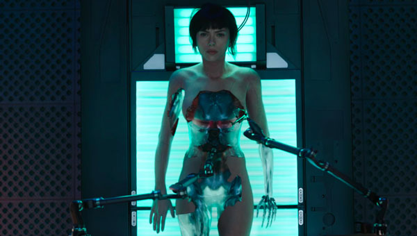 Creación Major Kusanagi en Ghost in the Shell 2017