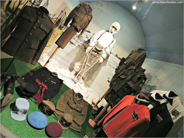 Uniformes Militares en el Museo de la Ciudadela de Quebec