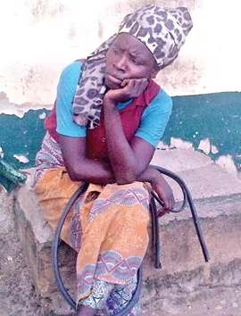 mad woman arrested oshodi bus stop