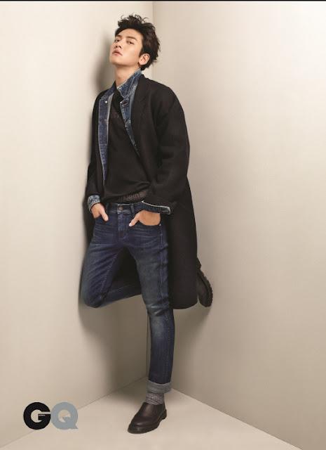 池昌旭-GQ Korea 12月號-Calvin Klein Jeans-CK