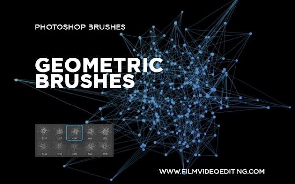 Photoshop Geometric Brushes Free Download