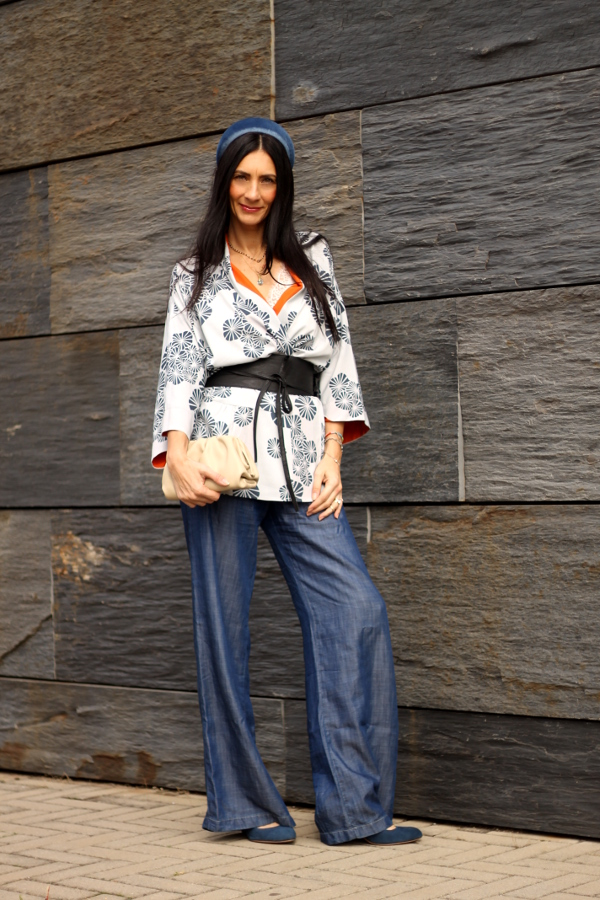 themorasmoothie, fashion, fashion blogger, kimono, accessori capelli, bag, borsa, bottega veneta, new bottega, paola buonacara, italian fashionblogger, fashionblogger italiana, style, fashion style, milano fashion week, come indossare giacca kimono