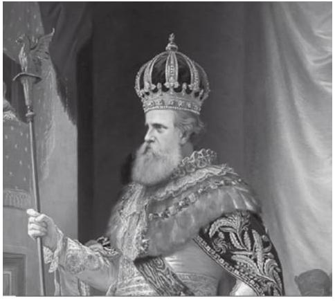 Dom Pedro II na abertura da Assembleia Geral