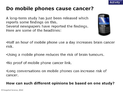 Do mobile phones cause cancer essay