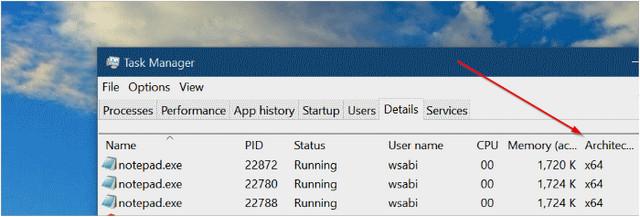 كيفية التحقق من البرنامج المثبت لديك 64 بت أو 32 بت في ويندوز 10