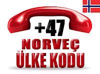 +47 Norveç ülke telefon kodu