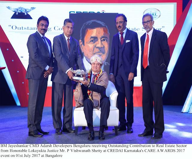 CREDAI Karnataka's CARE AWARDS 2017