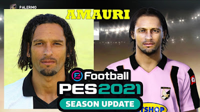 PES 2021 Faces Amauri by Andri Mod