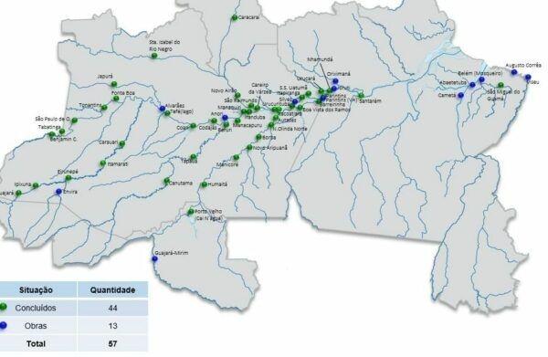 Governo estuda privatização de 57 portos na Amazônia