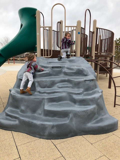 toddler park fun