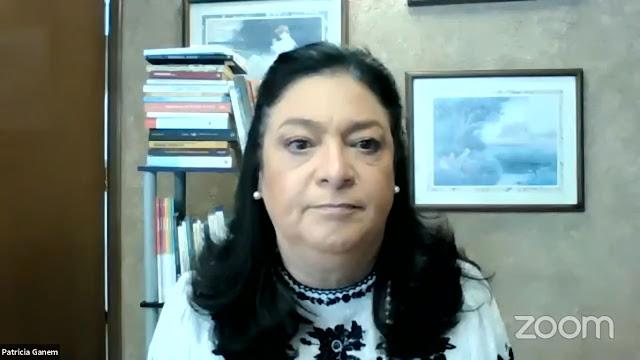 Patricia Gánem, presidenta de la Comisión de Educación de COPARMEX CDMX.
