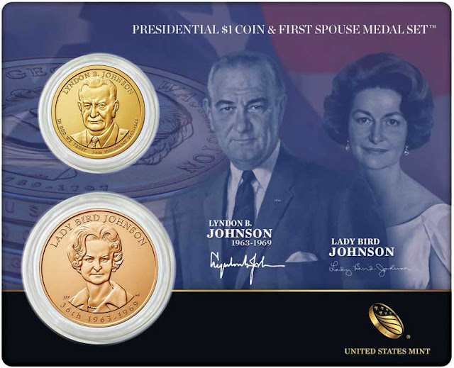 President Lyndon B. Johnson and First Spouse Lady Bird Johnson
