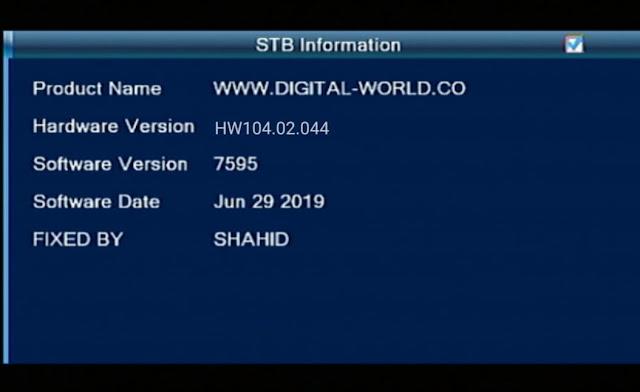 ECHOLINK HD RECEIVER, ALI3510D, 104.02.044 V 7595 NEW SOFTWARE,