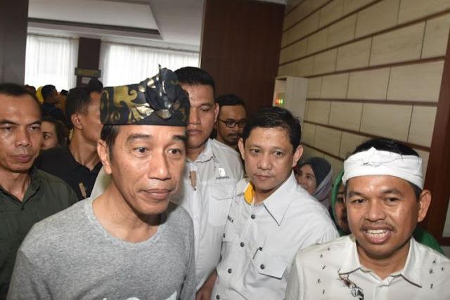 Tak Mau Kalah, TKN Klaim Jabar jadi Rumah Jokowi, Elektabilitas Versi Survei Internal 52,4%