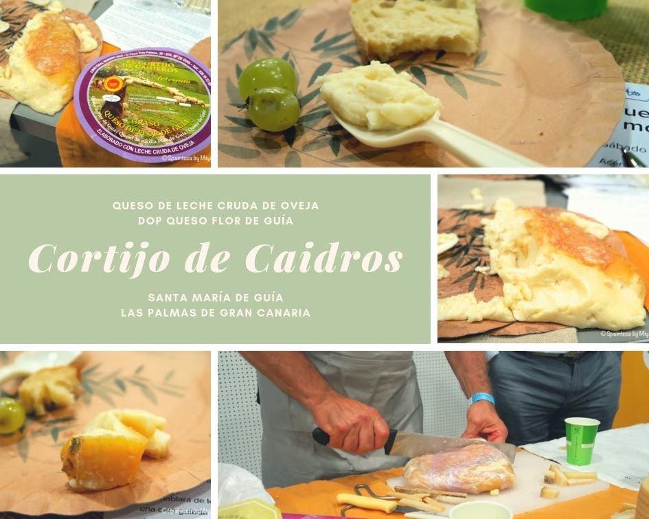 Cortijo Caideros コルティホ・カイデロス スペインのカナリアス諸島の自然派チーズ