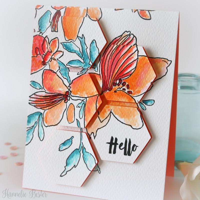 Altenew sketchy florals