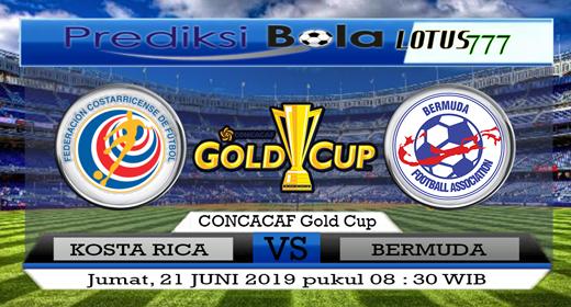 PREDIKSI KOSTA RIKA VS BERMUDA 21 JUNI 2019
