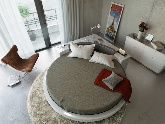 Beautiful Round Bed Designs For Bedroom