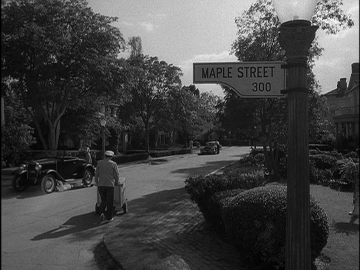 Throwback Thursday The Twilight Zone The Monsters Are Due On Maple Street