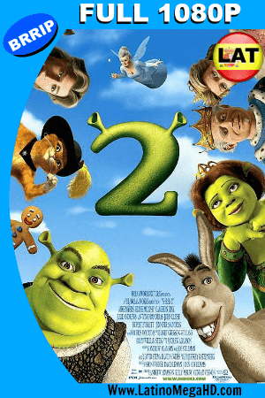 Shrek 2 (2004) Latino Full HD 1080P ()