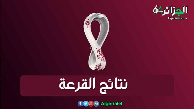 نتائج قرعة تصفيات كاس العالم قطر 2022 (المجموعات العشر)