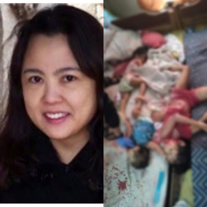 WOMAN KILLED HER THREE CHILDREN AND HERSELF AFTER CONFIRMED POSITIVE FOR COVID-19,(PHOTOS).