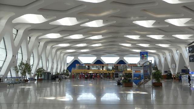 Flughafen Marrakesch-Menara, Abflughalle