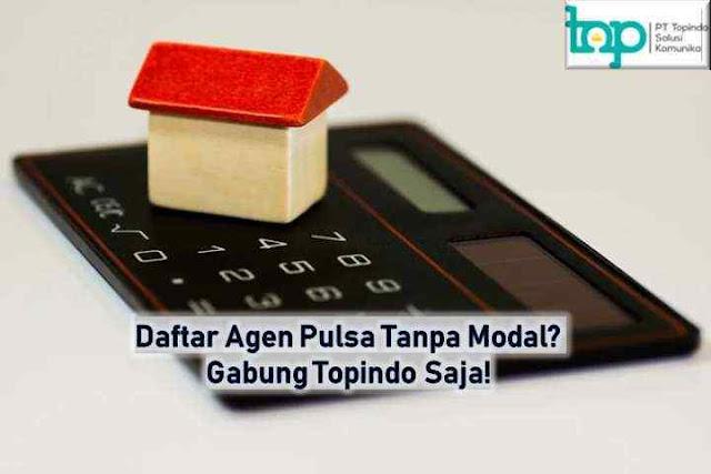 Daftar Agen Pulsa Tanpa Modal? Gabung Topindo Saja!