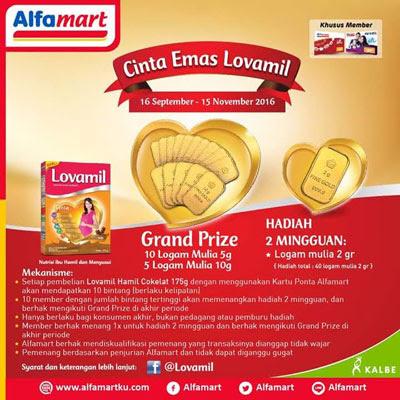 Cinta Emas Lovamil – Alfamart