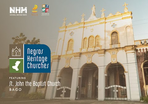 National Heritage Month Feature : Church of St. John the Baptist in Bago