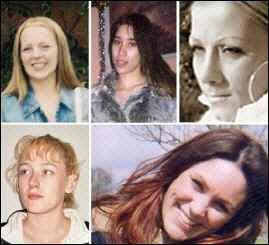 Photo des 5 victimes d'Ipswich