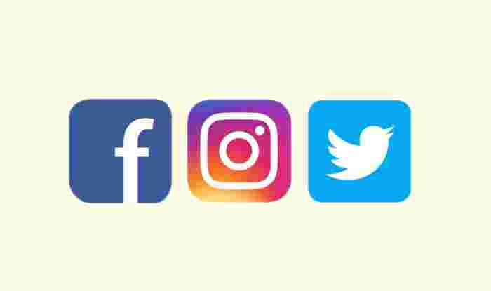 Facebook Instagram Twitter closed